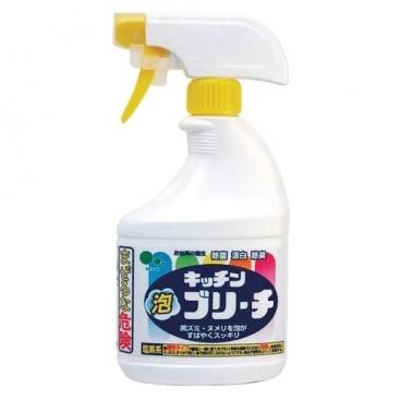 Универсальное кухонное моющее и отбеливающее пенное средство с возможностью распыления Mitsuei