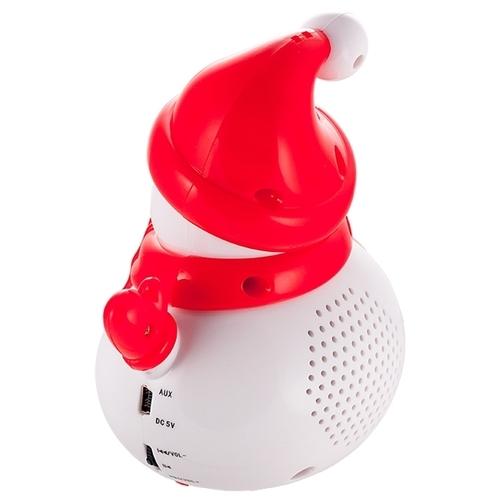 Портативная акустика Perfeo Поющий Снеговик
