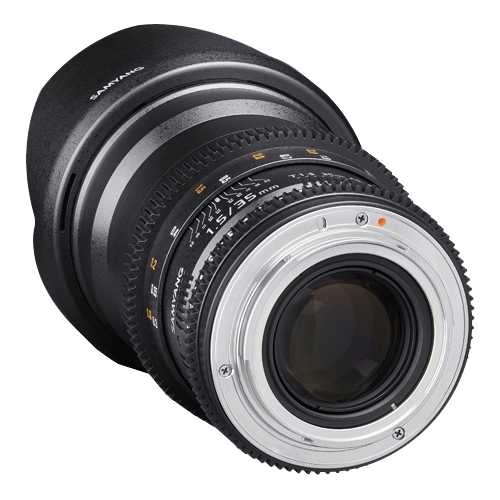 Объектив Samyang 35mm T1.5 ED AS UMC VDSLR Pentax K