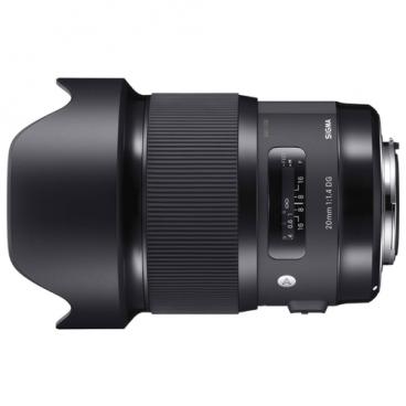 Объектив Sigma 20mm f/1.4 DG HSM Art Nikon F