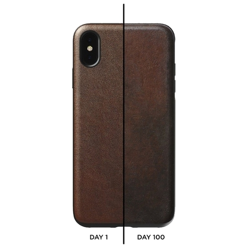 Чехол Nomad Rugged Leather Rustic для Apple iPhone X/Xs