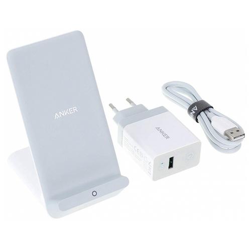 Беспроводная сетевая зарядка ANKER PowerWave 7.5 + Quick Charge 3.0 Charger