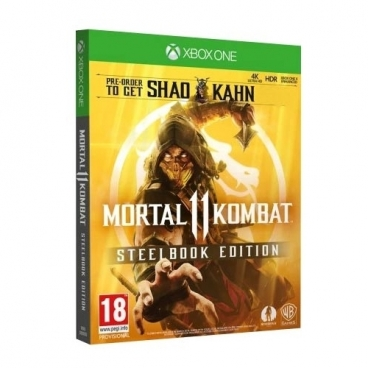 Mortal Kombat 11. Steelbook Edition