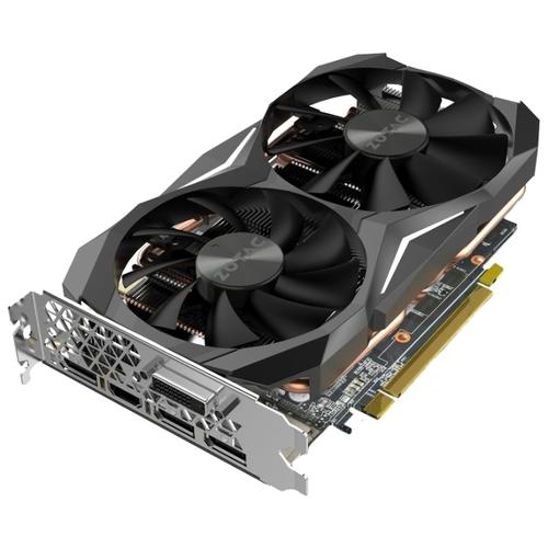 Видеокарта ZOTAC GeForce GTX 1070 Ti 1607Mhz PCI-E 3.0 8192Mb 8000Mhz 256 bit DVI HDMI HDCP Mini