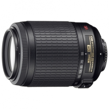 Объектив Nikon 55-200mm f/4-5.6G AF-S DX VR IF-ED Zoom-Nikkor