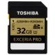 Карта памяти Toshiba SD-XPRO32UHS2