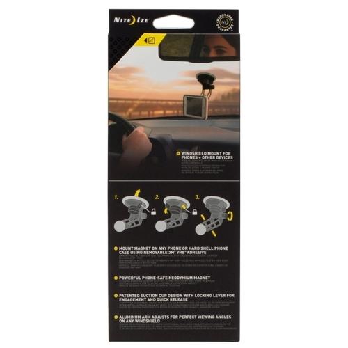 Магнитный держатель Nite Ize STEELIE FREEMOUNT WINDSHIELD KIT (STWSK-01-R8)