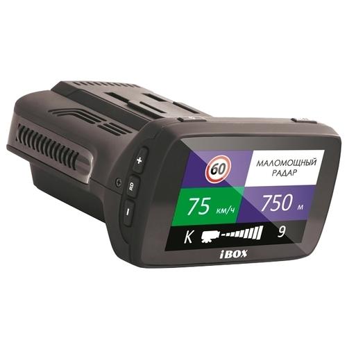 Видеорегистратор с радар-детектором iBOX Combo F5+ (PLUS)
