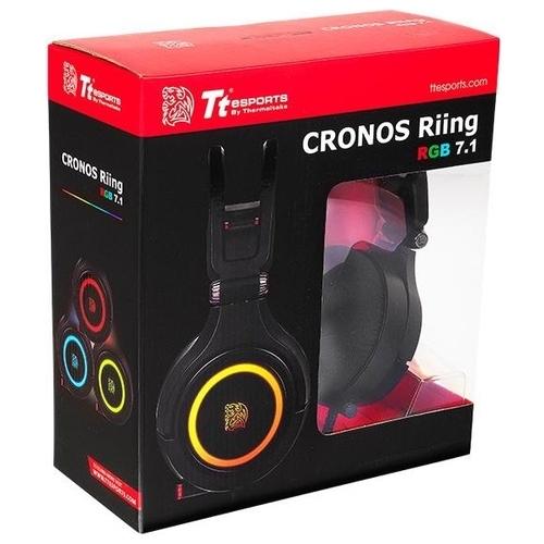 Компьютерная гарнитура Tt eSPORTS by Thermaltake CRONOS Riing RGB 7.1
