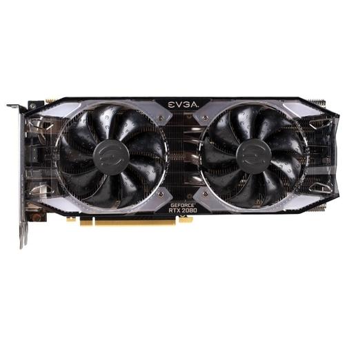 Видеокарта EVGA GeForce RTX 2080 1800MHz PCI-E 3.0 8192MB 14000MHz 256 bit HDMI HDCP XC GAMING
