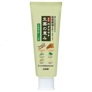 Зубная паста Lion Hitect Shoyaku для профилактики болезней десен на травах с освежающим ароматом