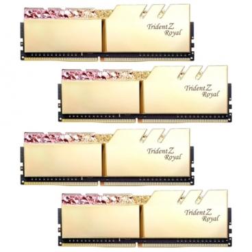Оперативная память 16 ГБ 4 шт. G.SKILL F4-3200C16Q-64GTRG