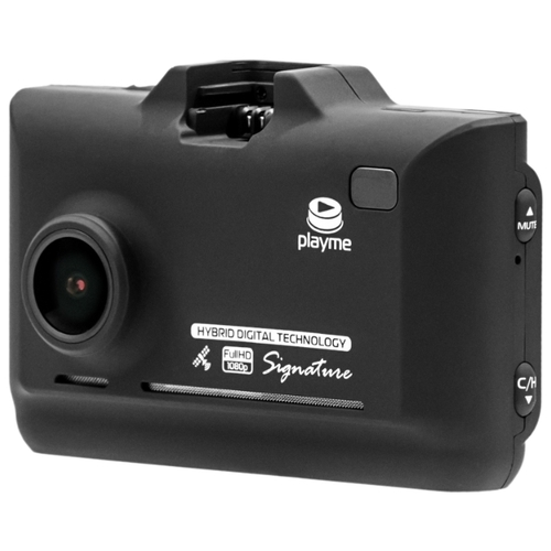 Видеорегистратор с радар-детектором Playme P570SG, GPS