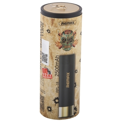 Аккумулятор Remax Shell Power Bank 2500 mAh RPL-18