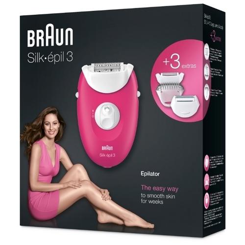 Эпилятор Braun 3-410 Silk-epil 3
