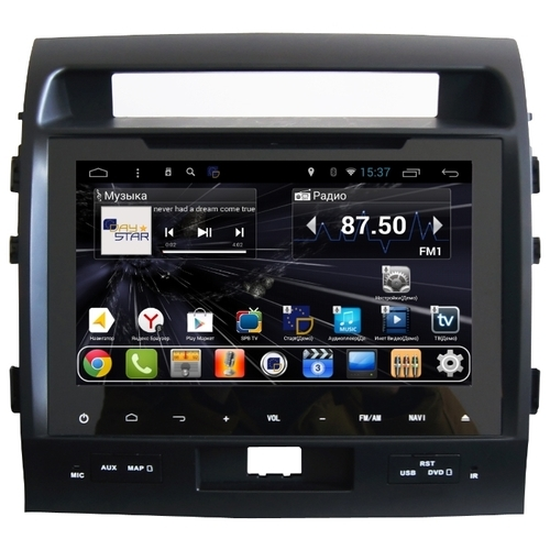 Автомагнитола Daystar DS-9006HD Toyota LC 200 ANDROID