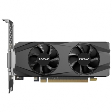 Видеокарта ZOTAC GeForce GTX 1050 Ti 1290Mhz PCI-E 3.0 4096Mb 7000Mhz 128 bit DVI HDMI HDCP Low Profile
