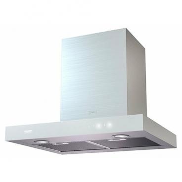 Каминная вытяжка Kronasteel Paola sensor 600 inox/white