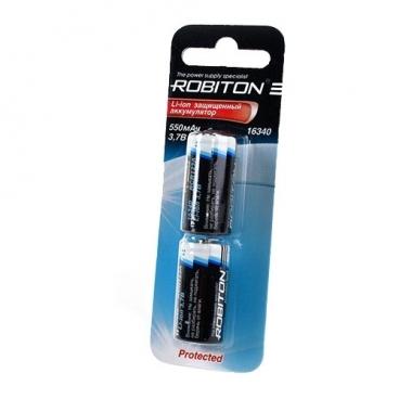 Аккумулятор Li-Ion 550 мА·ч ROBITON 16340