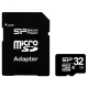 Карта памяти Silicon Power micro SDHC Card Class 6 + SD adapter