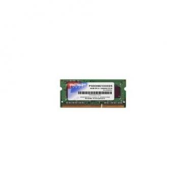 Оперативная память 4 ГБ 1 шт. Patriot Memory PSD34G13332S