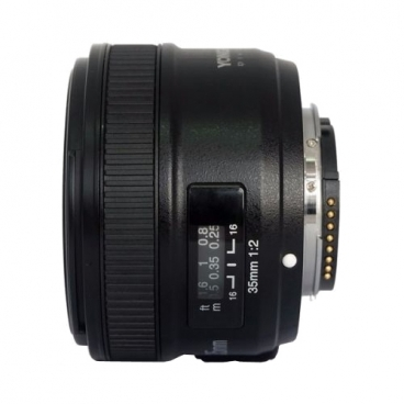Объектив YongNuo AF 35mm f/2 Nikon F