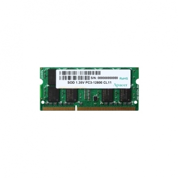 Оперативная память 2 ГБ 1 шт. Apacer DDR3L 1600 SO-DIMM 2Gb