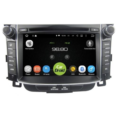 Автомагнитола ROXIMO CarDroid RD-2004 Hyundai i30 2, 2012, GD (Android 8.0)