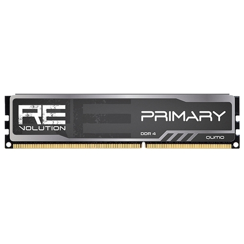 Оперативная память 4 ГБ 1 шт. Qumo ReVolution Primary Q4Rev-4G2800C16Prim