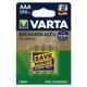 Аккумулятор Ni-Mh 550 мА·ч VARTA Recharge Accu Endless AAA 550
