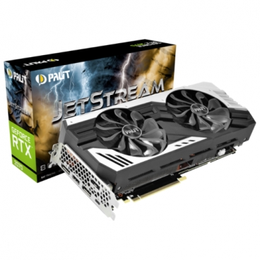 Видеокарта Palit GeForce RTX 2070 1410MHz PCI-E 3.0 8192MB 14000MHz 256 bit HDMI HDCP JetStream