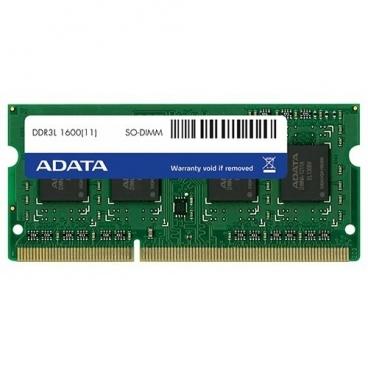 Оперативная память 2 ГБ 1 шт. ADATA DDR3L 1600 SO-DIMM 2Gb