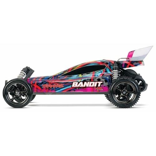 Багги Traxxas Bandit VXL TSM (24076-3) 1:10 41.3 см