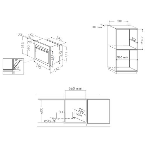 Электрический духовой шкаф KitchenAid KOHCS 60600