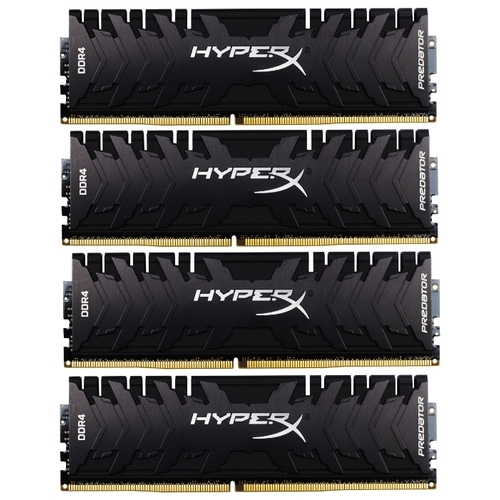 Оперативная память 16 ГБ 4 шт. HyperX HX432C16PB3K4/64