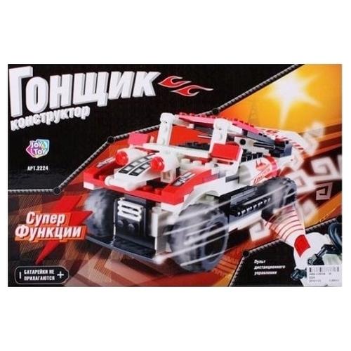Электромеханический конструктор Joy Toy Гонщик 2224