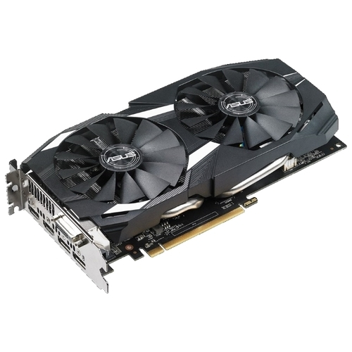 Видеокарта ASUS Radeon RX 580 1360MHz PCI-E 3.0 4096MB 7000MHz 256 bit DVI 2xHDMI HDCP Dual OC