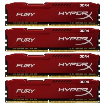 Оперативная память 16 ГБ 4 шт. HyperX HX429C17FRK4/64