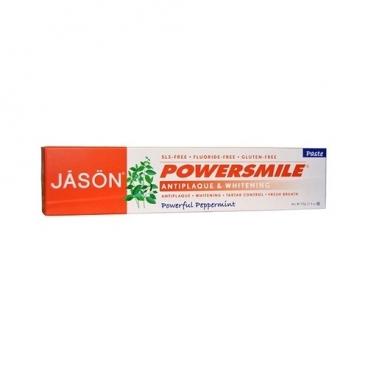 Зубная паста JASON Powersmile без фтора Сила перечной мяты
