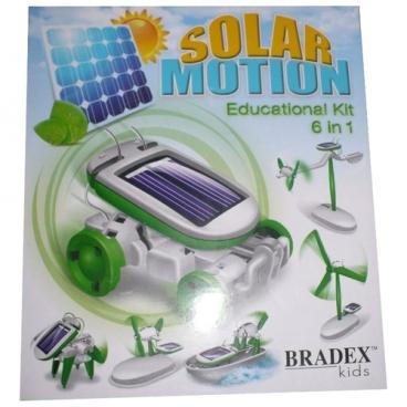 Электромеханический конструктор BRADEX DE0066 На солнечных батареях 6 в 1