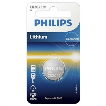 Батарейка Philips Lithium CR2025
