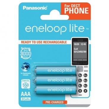 Аккумулятор Ni-Mh 550 мА·ч Panasonic eneloop lite DECT AAA