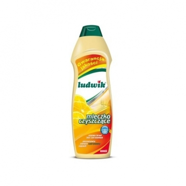 Чистящее молочко лимонное LUDWIK