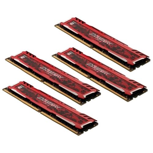 Оперативная память 8 ГБ 4 шт. Ballistix BLS4K8G4D26BFSEK