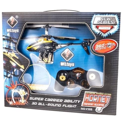 Вертолет WL Toys V388 23 см