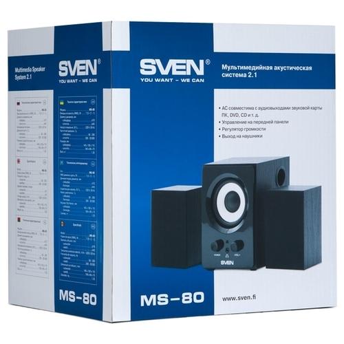 Компьютерная акустика SVEN MS-80