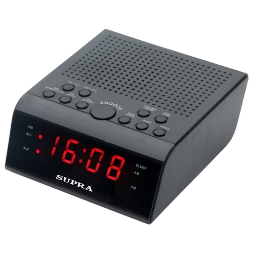 Радиобудильник SUPRA SA-44FM