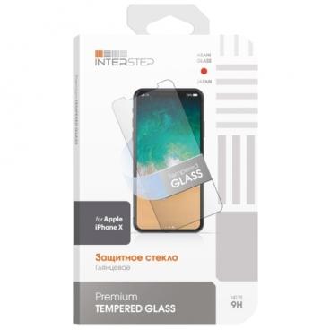 Защитное стекло INTERSTEP для Apple iPhone X