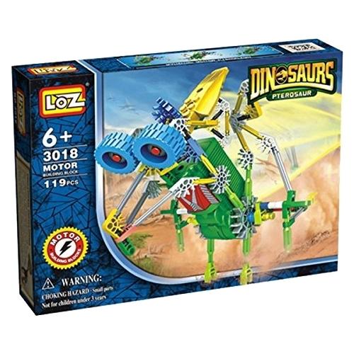 Электромеханический конструктор LOZ Dinosaurs 3018 Птерозавр