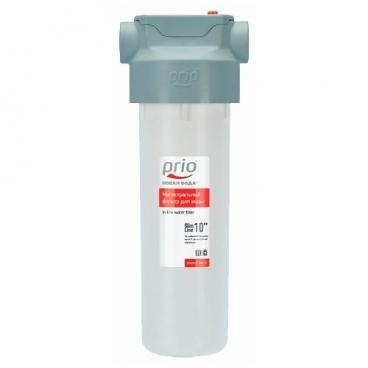 Фильтр магистральный Prio Новая вода BU110 двухступенчатый
